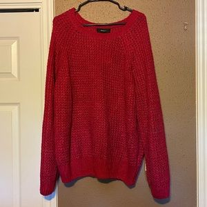 NWT Forever 21 Sweater. Pink. Size 3X.